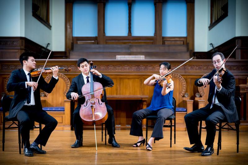 MGS Presents Telegraph String Quartet poster image